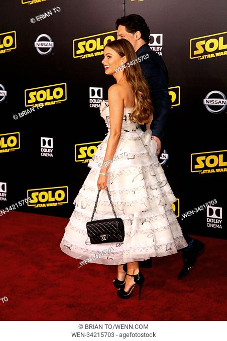 Celebrities attend Premiere of Disney Pictures And Lucasfilm's 'Solo: A Star Wars Story' - Arrivals Featuring: Joe Manganiello, Sofia Vergara Where: Los Angeles