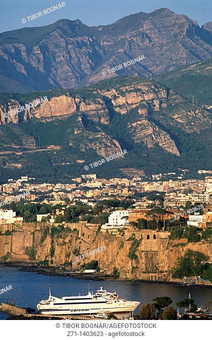 Italy, Campania, Sorrento, general view