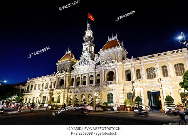 Saigon City Hall building, Ho Chi Minh City (Saigon), Vietnam