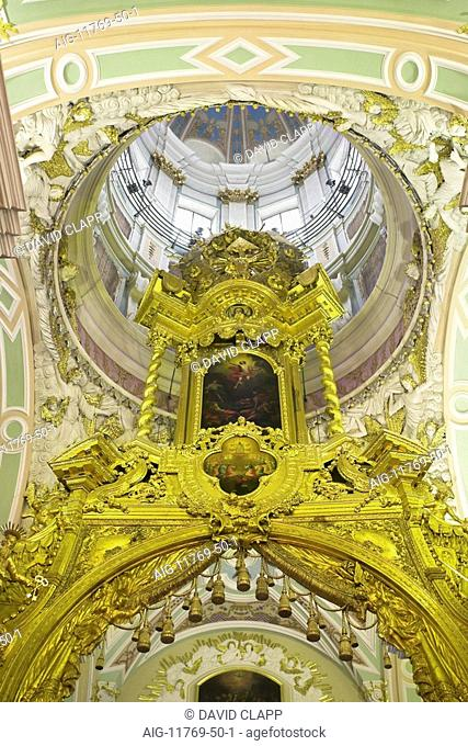 Cathedral of St Peter and St Paul, St Petersburg. 1703 -1733. Architect: Domenico Trezzini