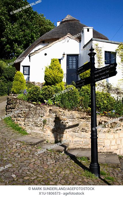Manor Cottage in Knaresborough North Yorkshire England