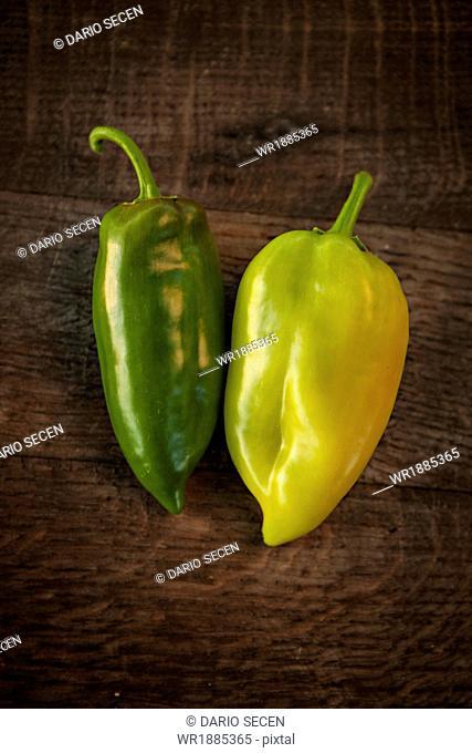 Fresh Green Bell Pepper, Croatia, Slavonia, Europe