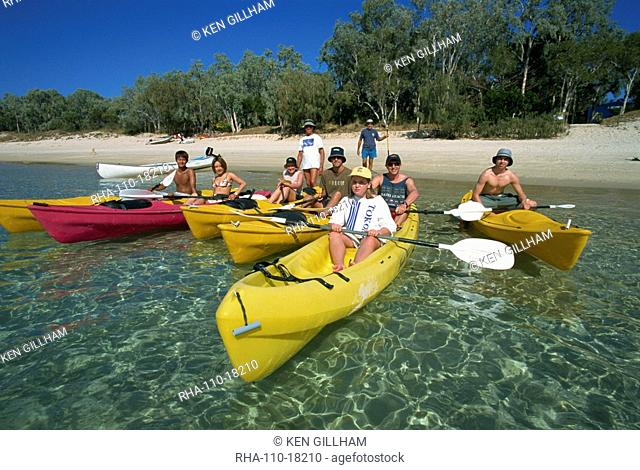 Kayaking, Great Keppel Island, Queensland, Australia, Pacific