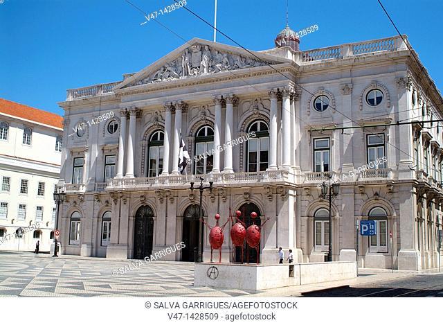 Chamber of Commerce, Lisbon, Portugal