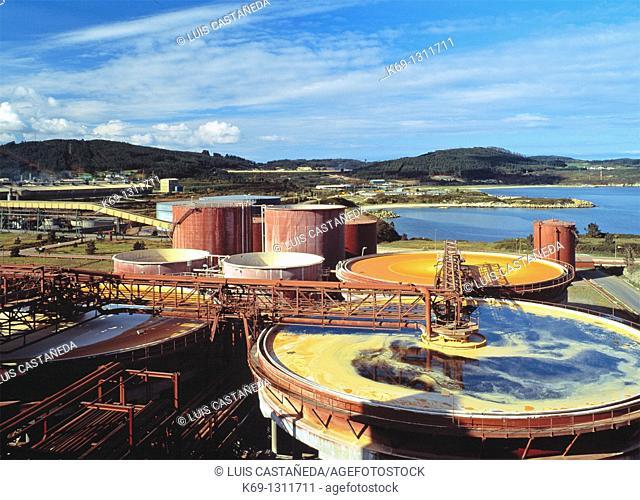 Aluminum Processing Plant  Galicia  Spain