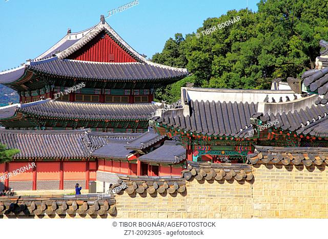 South Korea, Seoul, Changdeokgung Palace,
