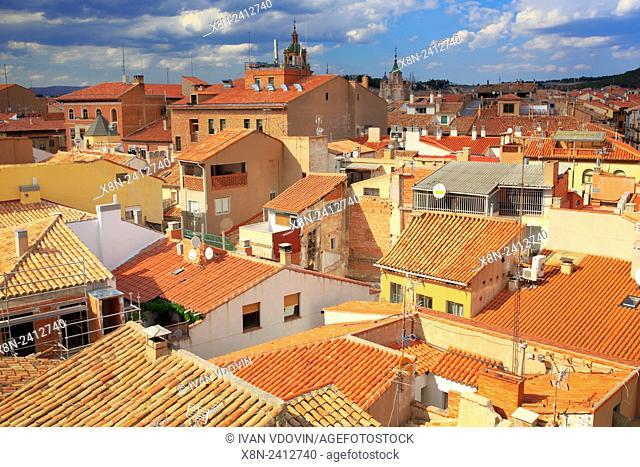 Cityscape, Teruel, Aragon, Spain