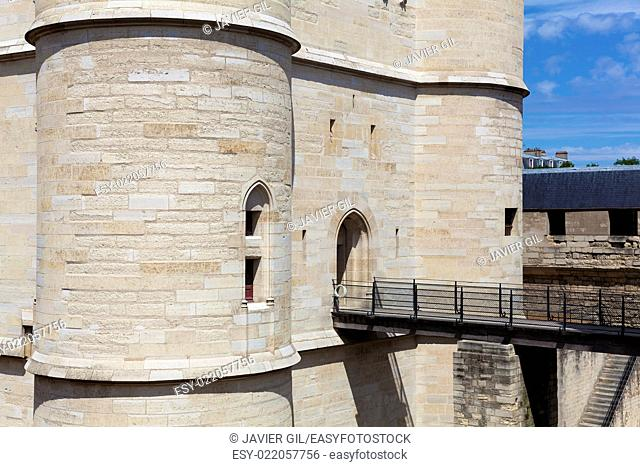 Castle of Vincennes, Ile-de-france, France