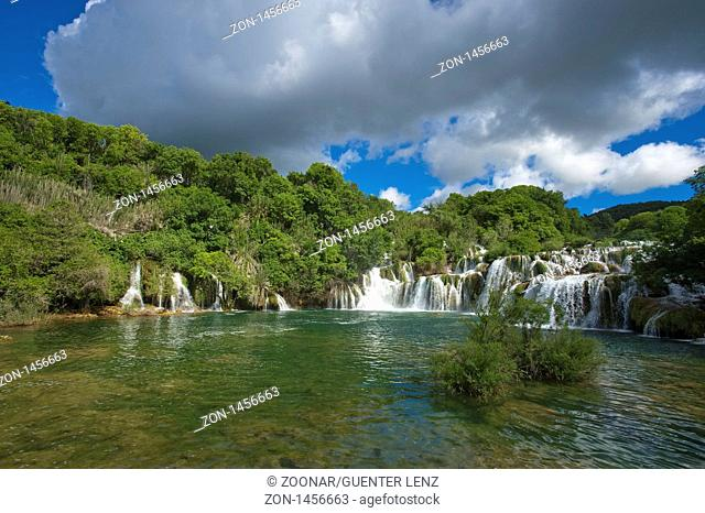 Nationalpark Krka Wasserfälle, Gespanschaft Sibenik-Knin, Kroatien