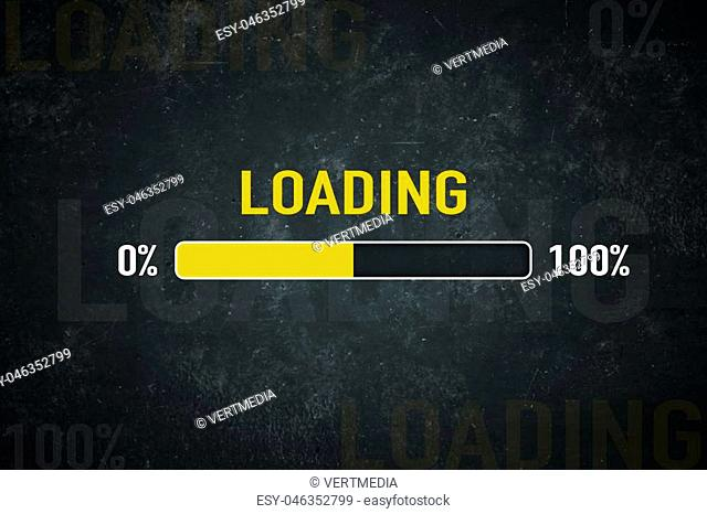 Loading bar: 0% - 100%