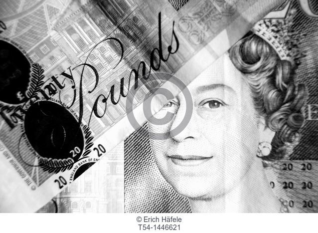 Queen Elizabeth the Second on the 20 pound note