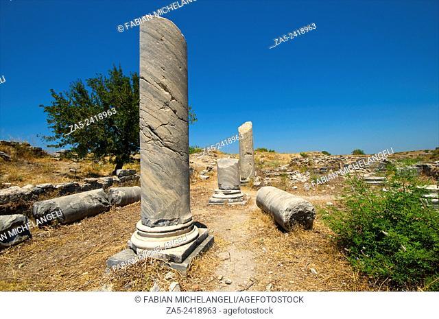Ruins of The Temple of Serapis. Miletos. Anatolia, Turkey