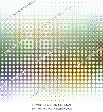 Abstract editable vector background of a dot pattern
