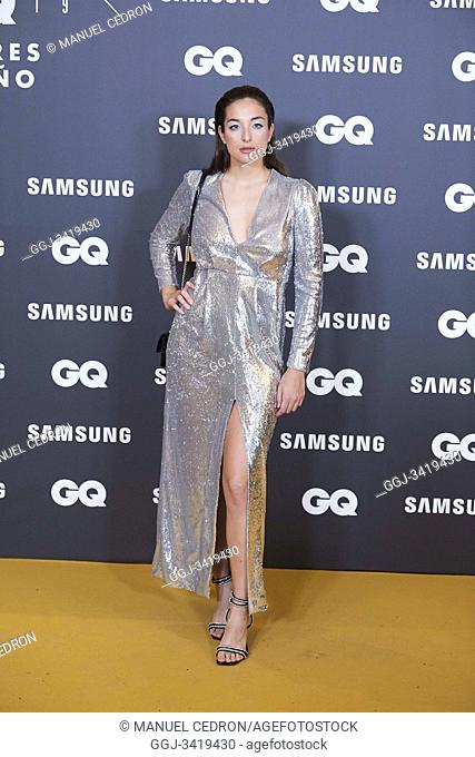 Sandra Delaporte attends GQ Men of the Year Awards 2019 at Palace Hotel on November 21, 2019 in Madrid, Spain