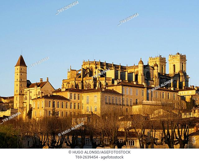 Saint Mary cathedral, Armagnac tower, Auch, Gers department, France, Europe