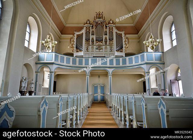 evangelische Kirche Bad Arolsen, Hessen, Deutschland