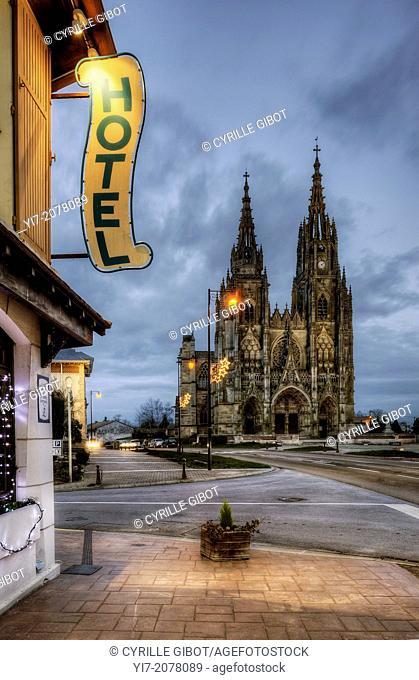 Basilique Notre-Dame de L'Épine, Notre Dame de l'Epine basilica, L'Epine, Champagne Ardennes, France