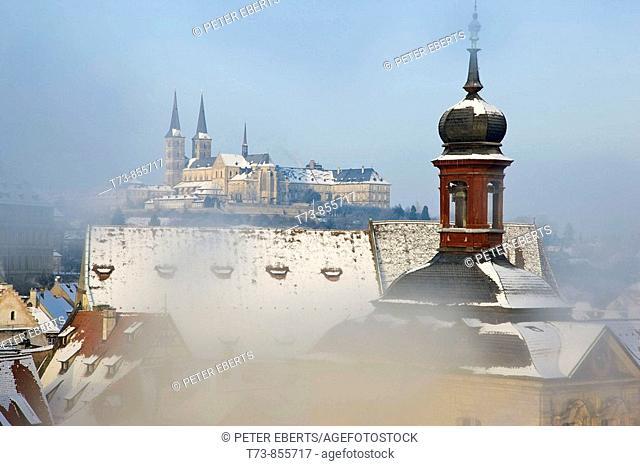 Blick Richtung Michaelskirche-Bamberg