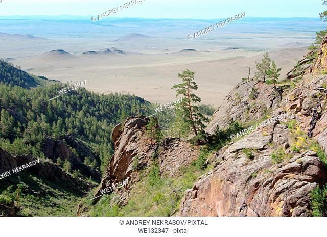 Merkit tract, Buryatia, Siberia, Russian Federation
