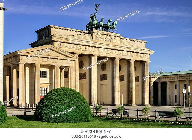 Brandenburg Gate from the east side