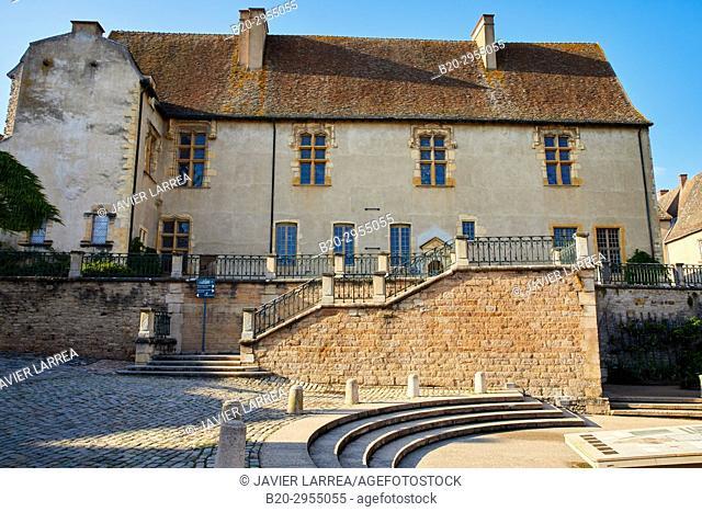 Jean de Bourbon Palace, Musée d'Art & d'Archéologie, Cluny, Saone-et-Loire Department, Burgundy Region, Maconnais Area, France, Europe