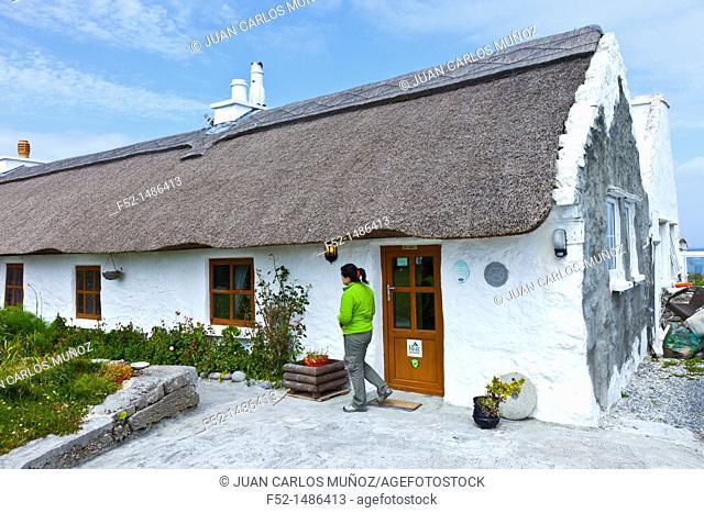 Man of Aran Bed & Breakfast  Inishmore Island, Aran Islands, Galway County, West Ireland, Europe