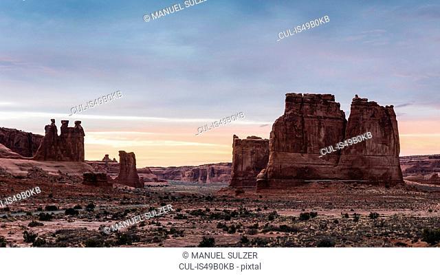 Arches National Park, Moab, Utah, USA
