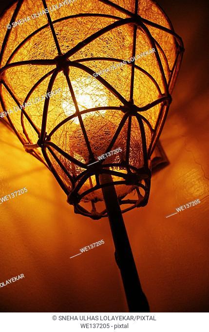 Drop light, low angle view,Do,Qatarh