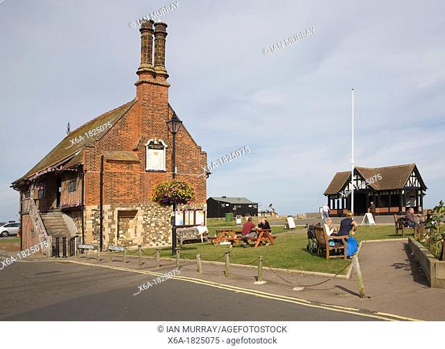 Sixteenth century Moot Hall Aldeburgh Suffolk England