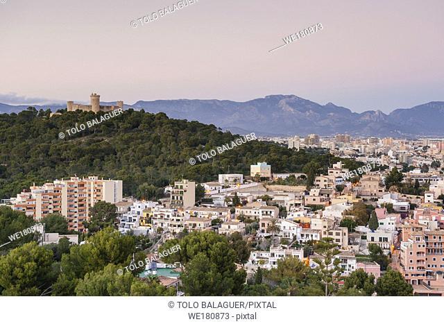 barrio de El Terreno, Distrito de Poniente , Palma de Mallorca , islas baleares, españa, europa