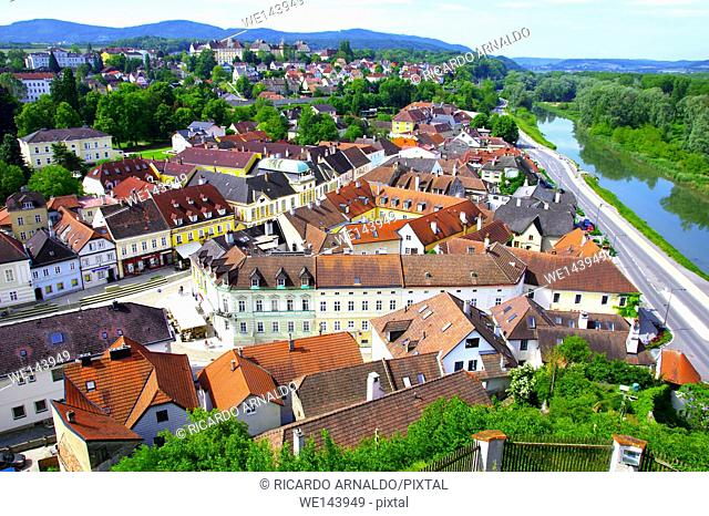 View of Melk, Austria