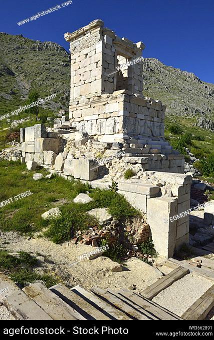 Turkey, Heroon at archaeological site of Sagalassos
