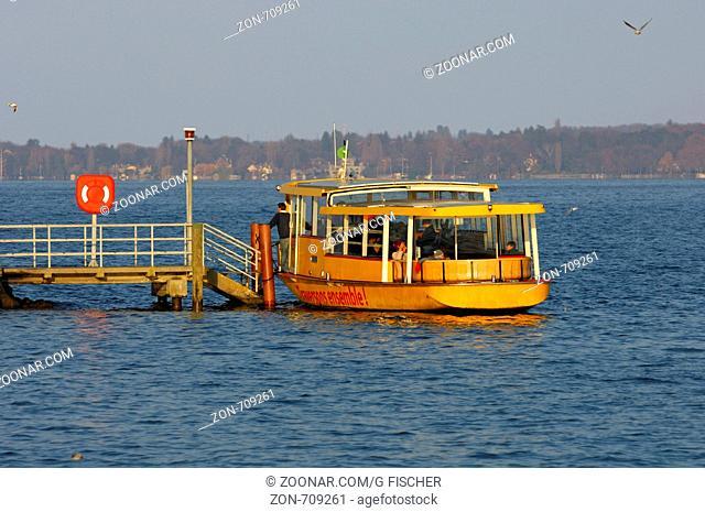 Genfer Boottaxi der Gesellschaft