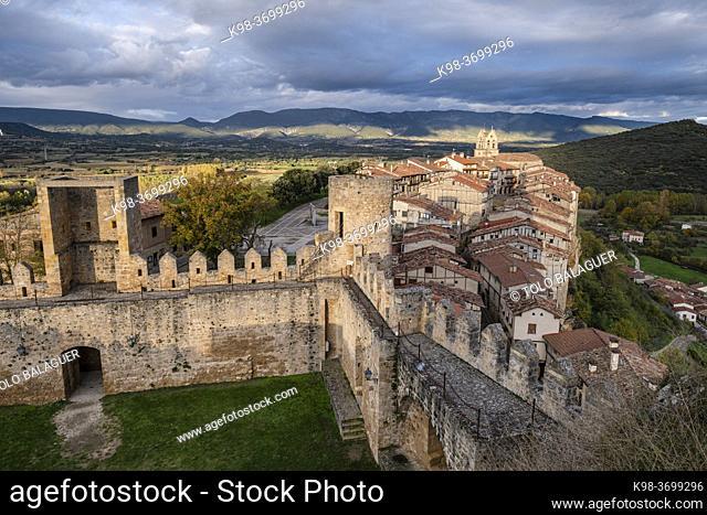 duques de Frías castle, Frías, province of Burgos, region of Las Merindades, Spain