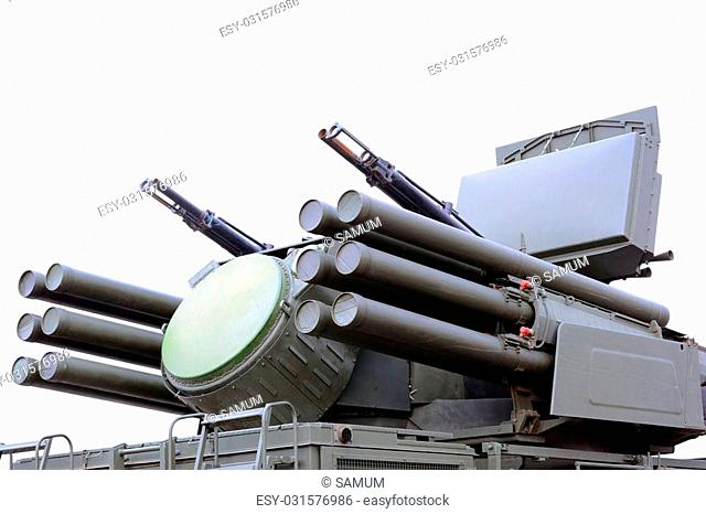 Pantsir-S1 (SA-22 Greyhound) missile and anti-aircraft weapon system