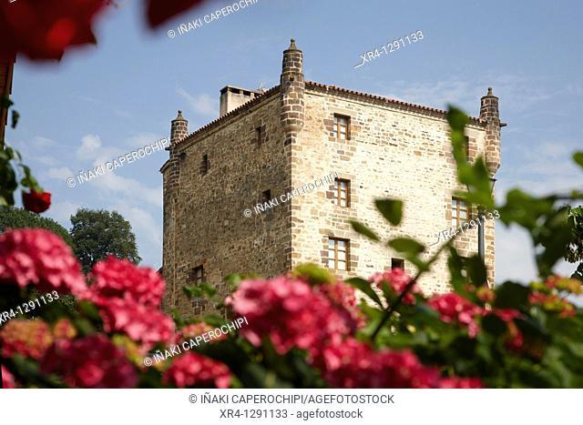 Zozaia Palace, Zozaia quarter, Oronoz, Baztan Valley, Navarra Nafarroa, Spain España