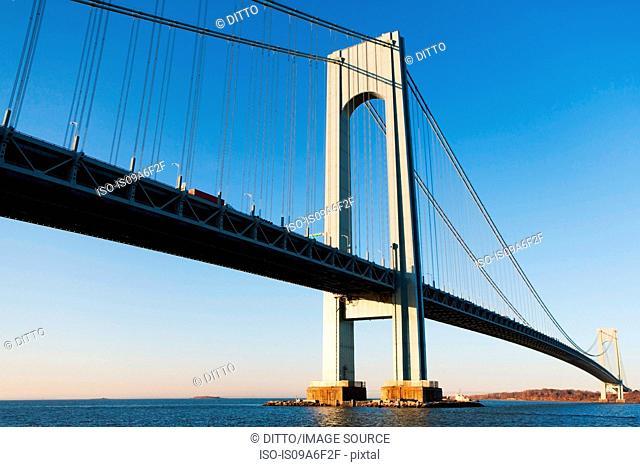 Verrazano-narrows bridge, New York City, USA