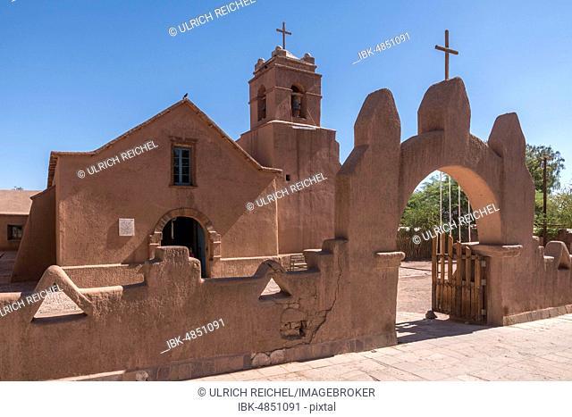 Church, San Pedro de Atacama, Región de Antofagasta, Chile