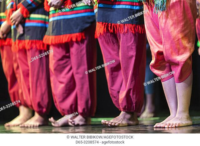 Cambodia, Phnom Penh, traditional dance performance, NR