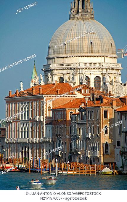 Basilica di Santa Maria della Salute, Venice, Italy, Europe