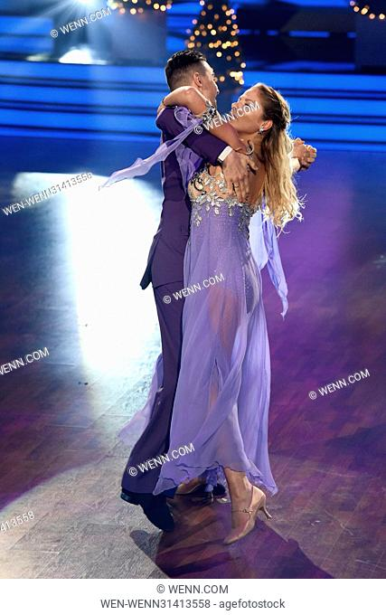 German RTL Live TV Show 'Let's Dance' at MMC Studios. Featuring: Cheyenne Pahde, Andrzej Cibis Where: Cologne, Germany When: 05 May 2017 Credit: WENN
