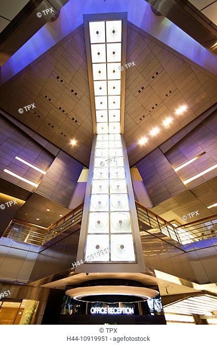 Asia, Japan, Tokyo, Roppongi, Roppongi Hills, Mori Tower, Skyscraper, Hi-rise, Office Building, Architecture, Modern, Japanese, Modern, Interior