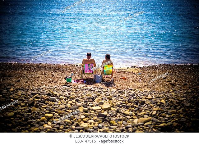 Las Negras beach in Cabo de Gata, Almeria, Spain