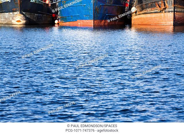 Water and Fishing Boats