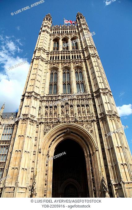 Victoria Tower, London, England, UK