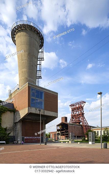 Gelsenkirchen, Bismarck, D-Gelsenkirchen, D-Gelsenkirchen-Bismarck, Ruhr area, Westphalia, North Rhine-Westphalia, NRW, former coalmine Consolidation 3/4/9 of...