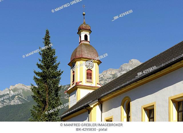 Parish Church of St. George, 1780, Neustift, Stubaital, Tyrol, Austria