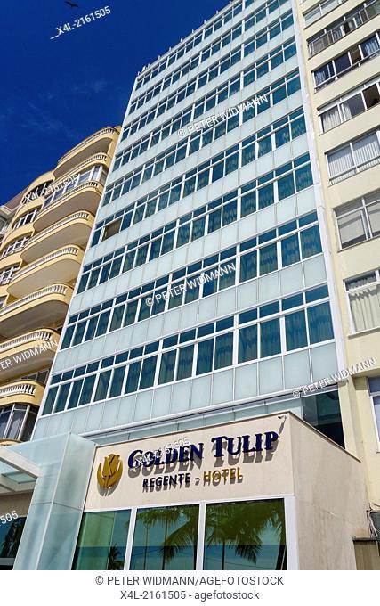 Rio de Janeiro, Copacabana, Golden Tulip Regente Hotel, Brazil