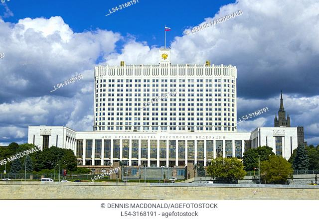 Moscow Russian Moskva city National capital of Russia Government Building of the Russian Federation