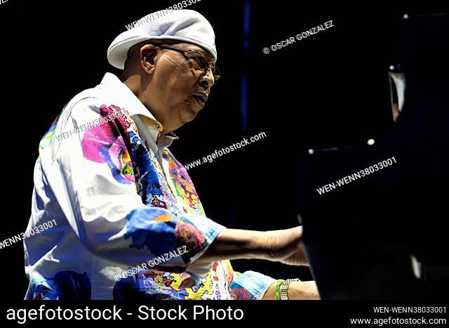 Chucho Valdes performs during Jazz Palacio Real music festival at Palacio Real. madrid Spain Featuring: Chucho Valdes Where: Madrid